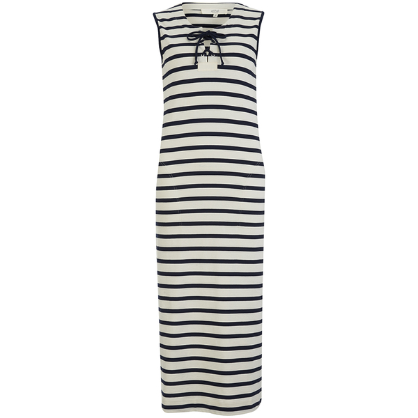 Vanessa Bruno Athe Women's Ellora Stripe Dress - Ecru/Marine