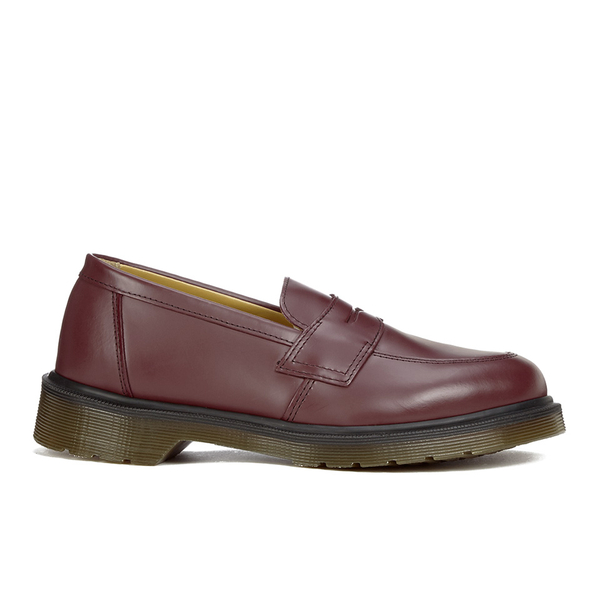 Dr. Martens Women's Addy Loafers - Cherry Red Smooth