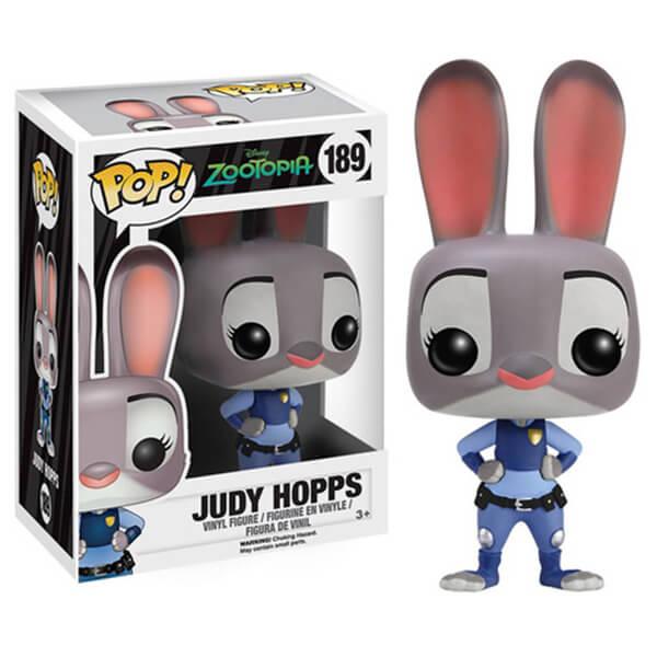 Disney Zootropolis Judy Hopps Funko Pop Figuur