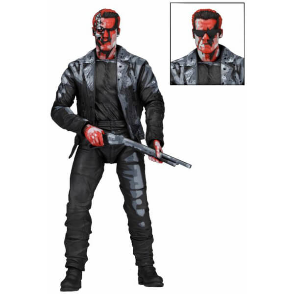 NECA Terminator 2 T-800 Video Game Appearance 7 Inch Action Figure