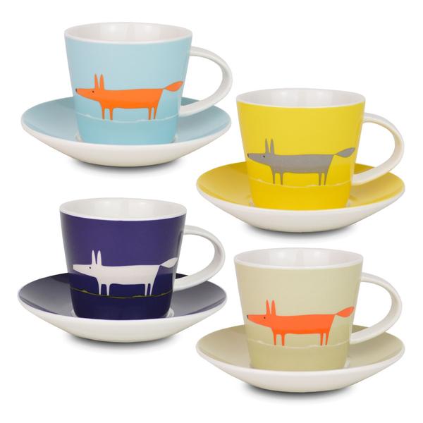 Scion Mr Fox Espresso Set