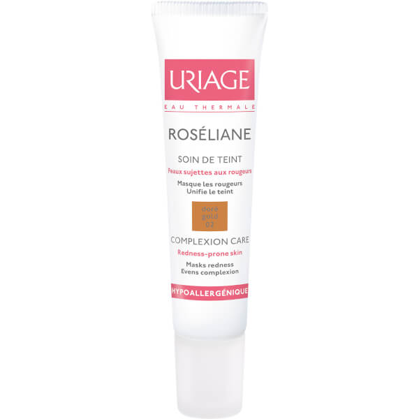 Uriage Roséliane Anti-Redness Treatment Make-Up - Gold (15ml)