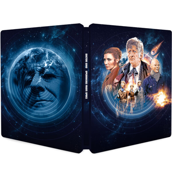 Doctor Who: Spearhead From Space Steelbook (Zavvi