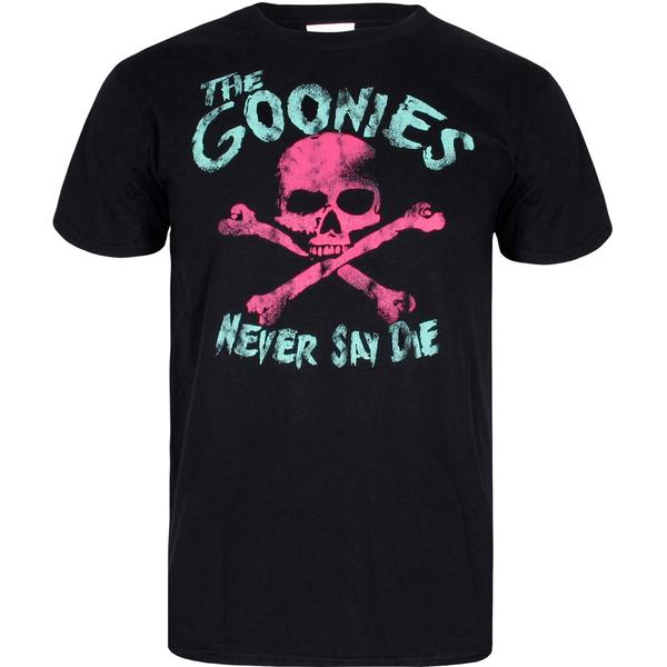 The Goonies Men's Skull T-Shirt - Black