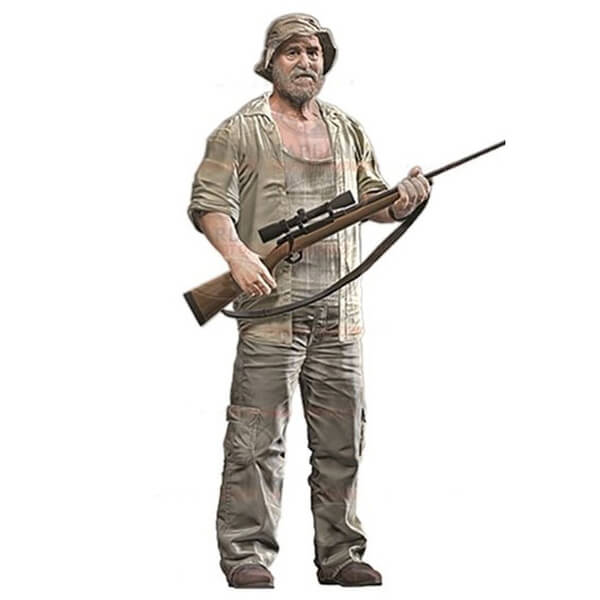 The Walking Dead Series 8 Dale Horvath 5 Inch Action Figure