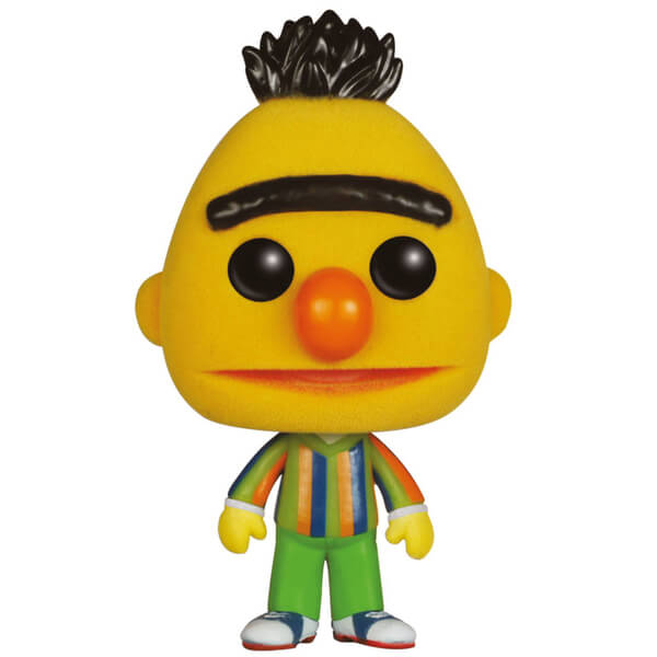 Sesame Street Bert Flocked Pop! Vinyl