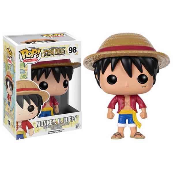 One Piece Monkey D Luffy Pop Vinyl Figure Merchandise