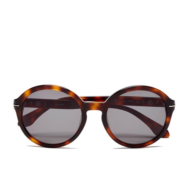Calvin Klein Women's Platinum Sunglasses - Havana