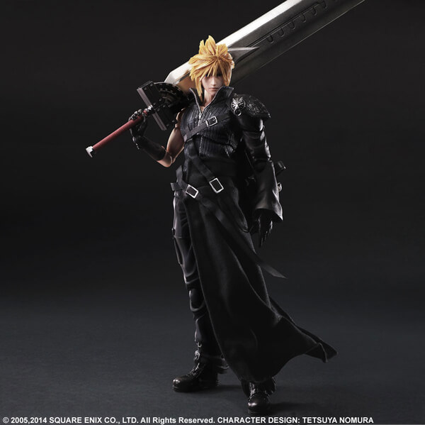 Square Enix Final Fantasy VII Advent Children Play Arts Cloud Strife 11 Inch Figure