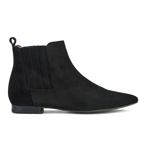H Shoes by Hudson H Shoes by Hudson Women's Reine Pointed Suede Ankle Boots - Black - UK 7