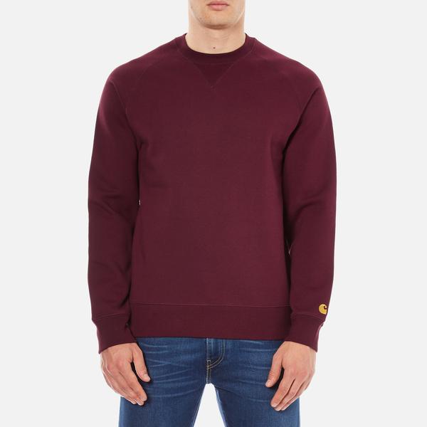 Carhartt Men's Chase Sweatshirt - Chianti/Gold