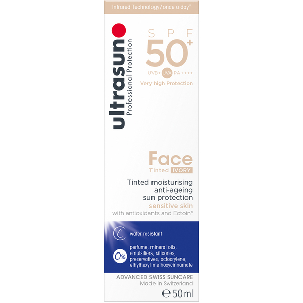 Ultrasun SPF50+ Tinted Face Sun Cream (Various Shades)
