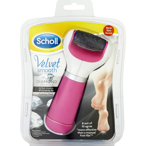 Scholl Velvet Smooth Extra Coarse Express Pedi