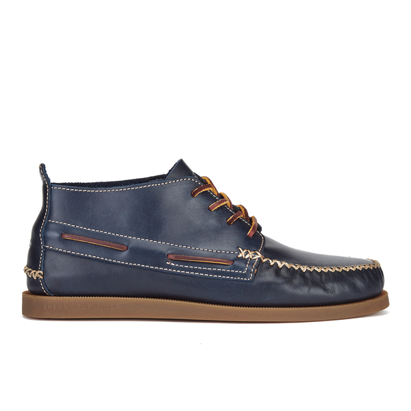 Sperry Sperry Men's A/O Wedge Leather Chukka Boots - Navy - UK 11