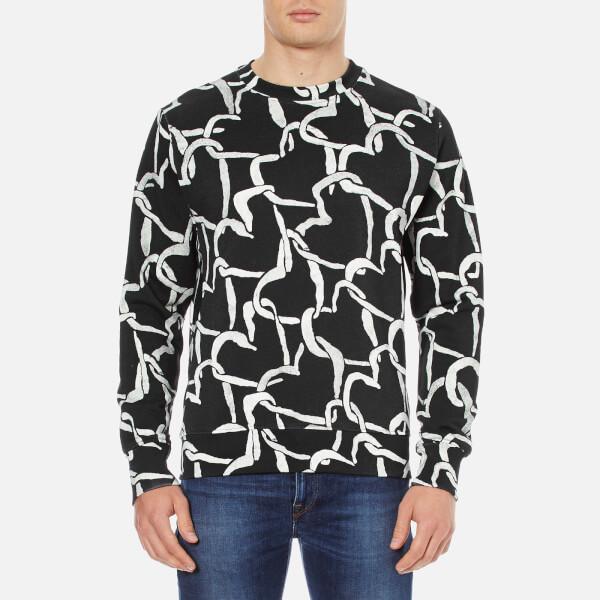 PS by Paul Smith Men's Crew Neck Sweatshirt - Black