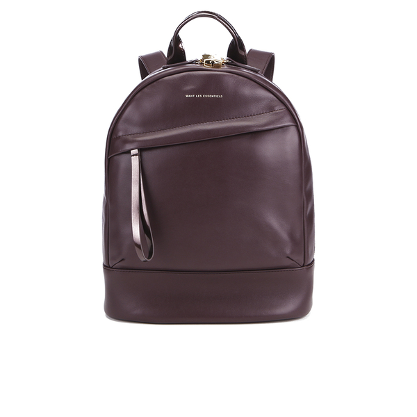 WANT LES ESSENTIELS Women's Mini Piper Backpack - Bordeaux/Gilded Plum