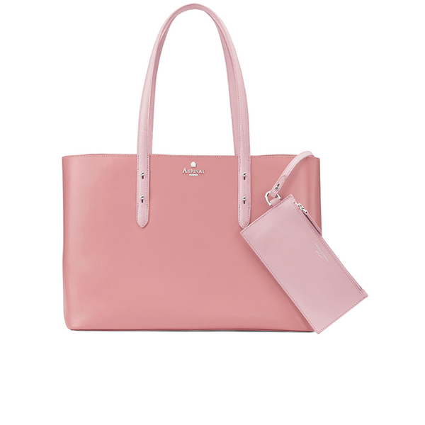 Aspinal of London Women's Regent Tote - Dusky Pink/Rose Dust