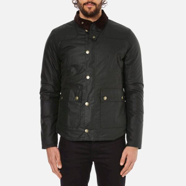 Barbour Heritage Men's Reelin Wax Jacket - Sage