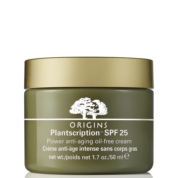 Crema anti-envejecimiento sin aceites con protector FPS25Plantscription™ de Origins (50 ml)