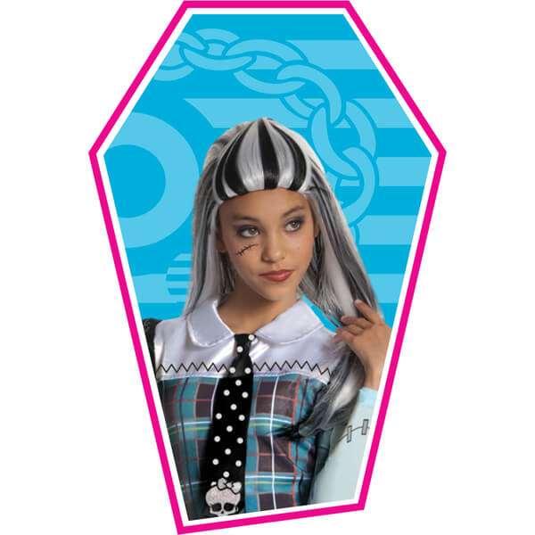 Monster High Girls' Frankie Stein Wig