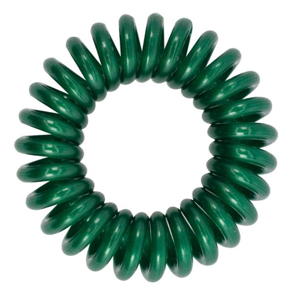 Élastique à cheveux MiTi Professional - vert émeraude (3 p.)