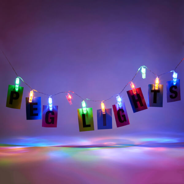 Peg String Lights Iwoot