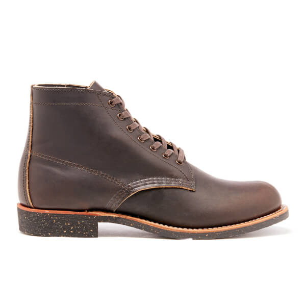 Red Wing Men's Merchant Leather Lace Up Boots - Ebony Harness