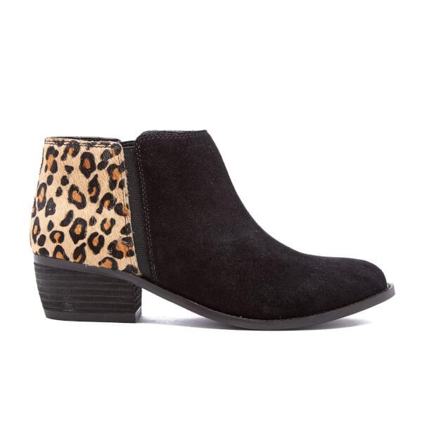 Dune Women's Penelope Suede Ankle Boots - Leopard Pony