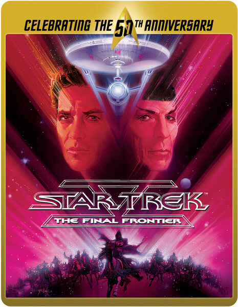 Star Trek 5 - The Final Frontier (Limited Edition 50th Anniversary Steelbook)