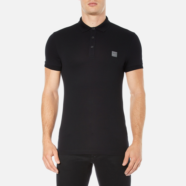 BOSS Orange Men's Pavlik Polo Shirt - Black