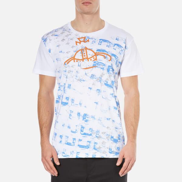 Vivienne Westwood MAN Men's Manhole Rubbings T-Shirt - White