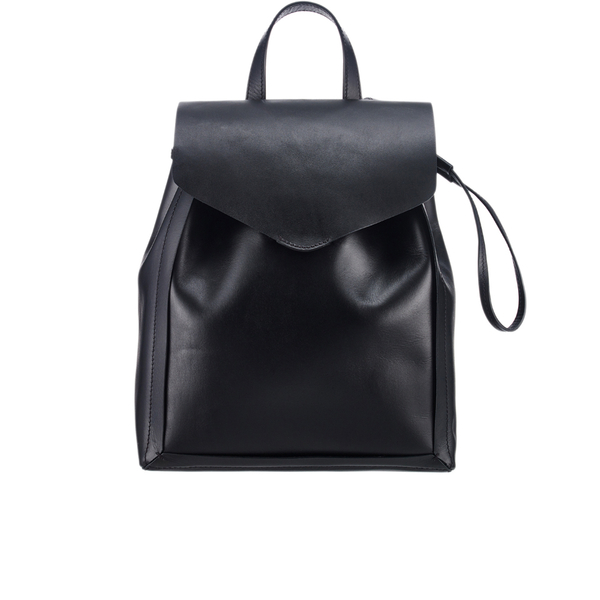 Loeffler Randall's retro mini backpack can be your friend during the day and night
