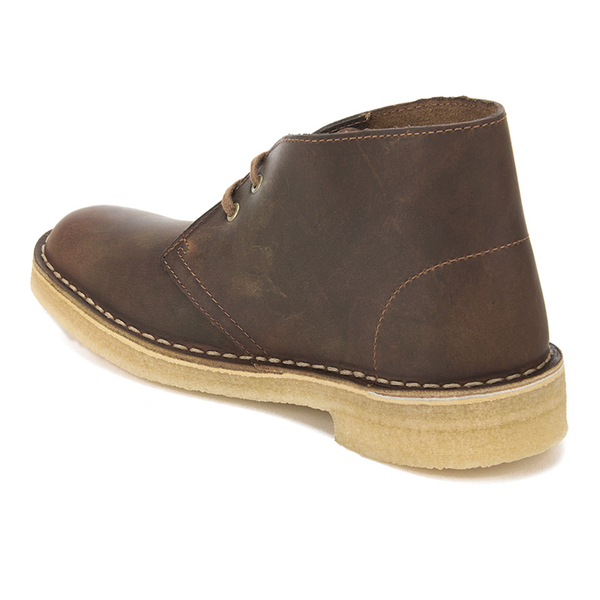 Brilliant Clarks Womens Desert Boot Boots In Beeswax LeatherYellow Crepe