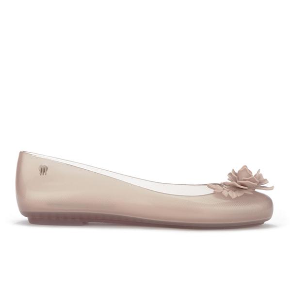 Alexandre Herchcovitch for Melissa Alexandre Herchcovitch for Melissa Women's Space Love Flower Ballet Flats - Champagne - UK 7