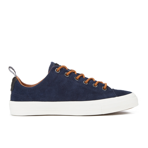 Converse CONS Men's Star Player Premium Suede Ox Trainers - Obsidian/Antique Sepia/Egret