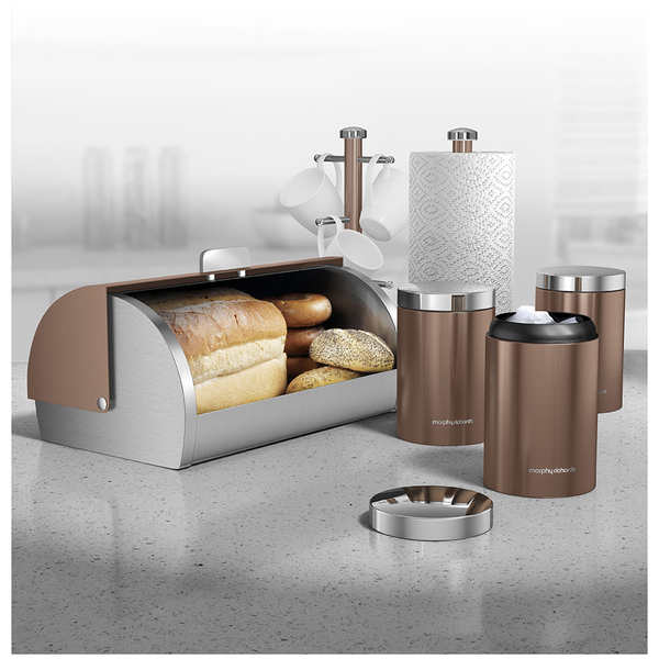 Morphy Richards Kitchen Set: Morphy Richards 974099 6 Piece Storage Set - Copper