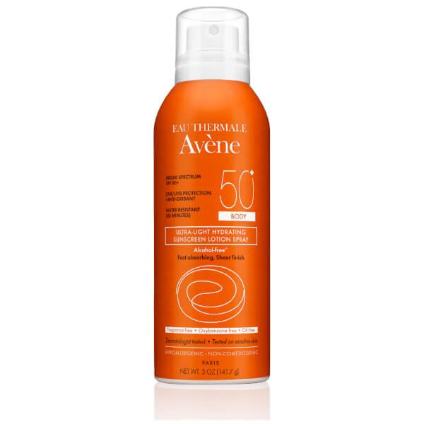 Avene Ultra-Light Hydrating Sunscreen Lotion Spray Body SPF 50