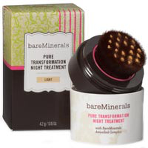 bareMinerals Skincare Pure Transformation Night Treatment - Light