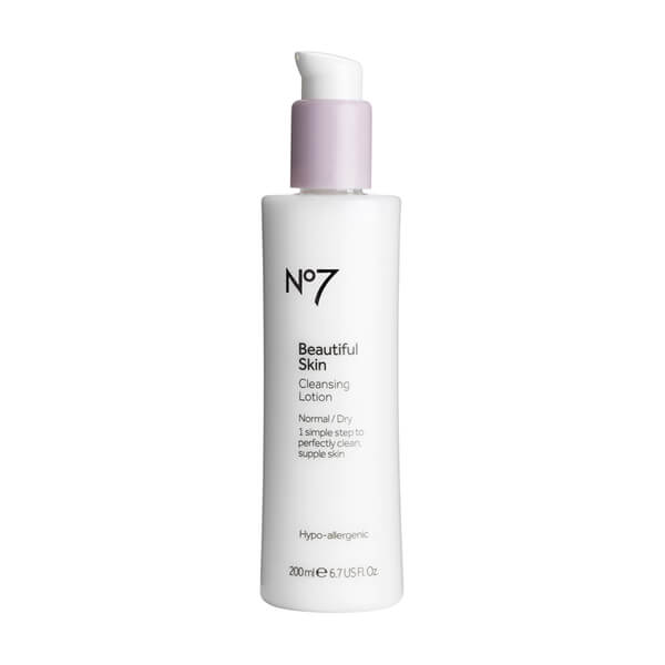 Boots No.7 Beautiful Skin Cleansing Lotion - Normal to Dry