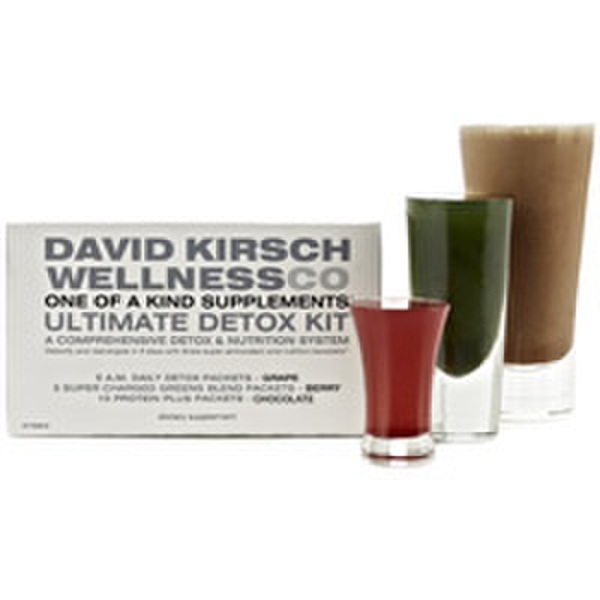 David Kirsch Wellness Ultimate Detox Kit - Chocolate