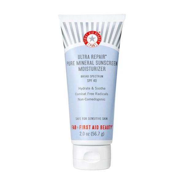First Aid Beauty Ultra Repair Pure Mineral Sunscreen Moisturizer SPF 40