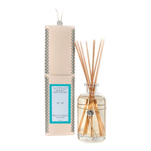 Votivo Aromatic Reed Diffuser White Ocean Sands