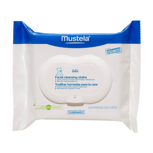 Mustela Facial Cleansing Cloths With PhysiObebe