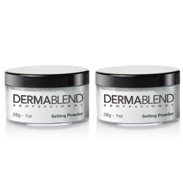 2x Dermablend Loose Setting Powder - Original
