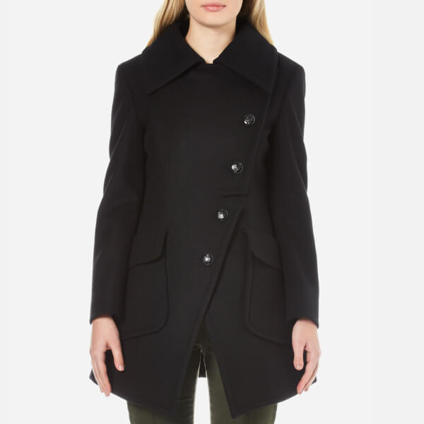Vivienne Westwood Anglomania Women's Military Coat - Black
