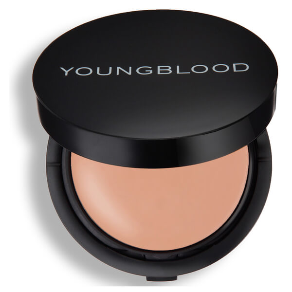 Young Blood Mineral Radiance Creme Powder Foundation- Honey