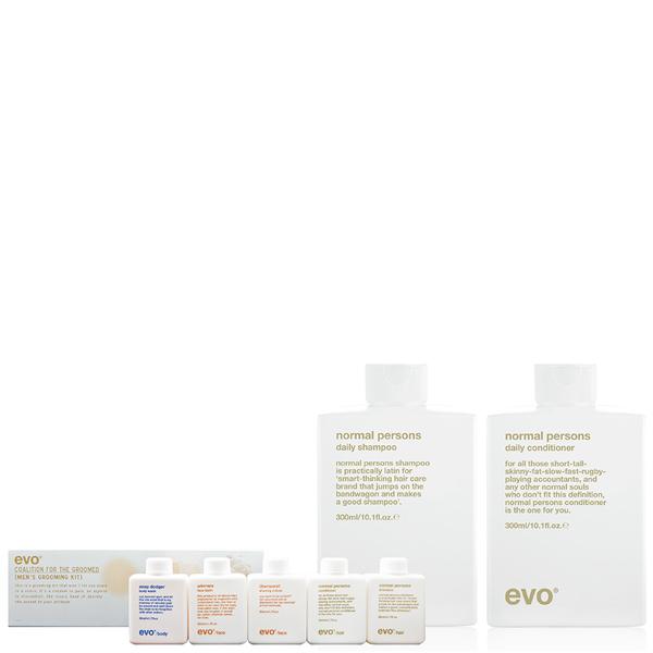 Evo Normal Persons Shampoo & Conditioner Bonus Travel Kit