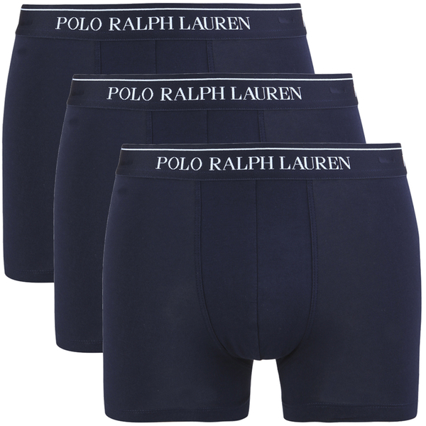 Polo Ralph Lauren Men's 3 Pack Trunk Boxer Shorts - Cruise Navy
