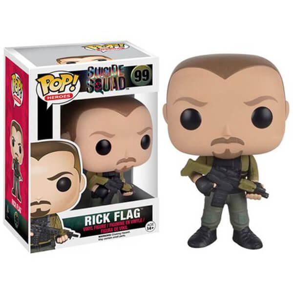 Suicide Squad Rick Flagg 3 Inch Pop! Vinyl Figure