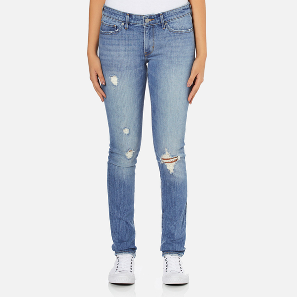 Levi's Women's 711 Skinny Fit Jeans - Goodbye Heart
